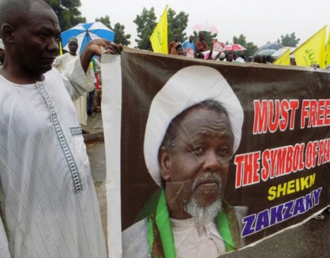 Breaking News: Shi'ites Stage Peaceful Protest In Lagos