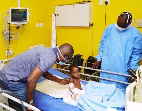 Sanwo-Olu Visits Ijegun Fire Survivors, Warns Pipeline Vandals