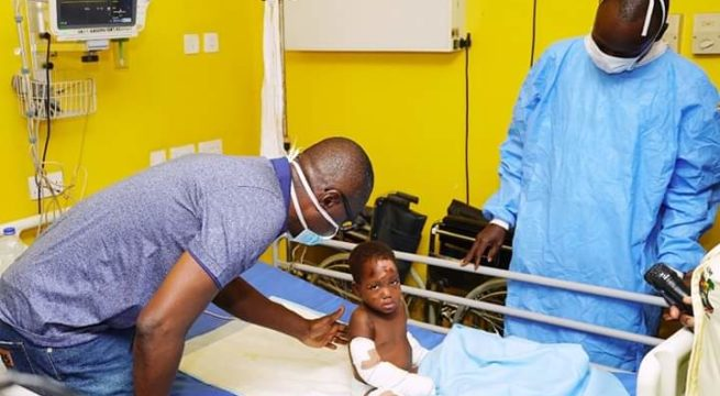 Sanwo-Olu Visits Ijegun Fire Survivors, Warns Pipeline Vandals