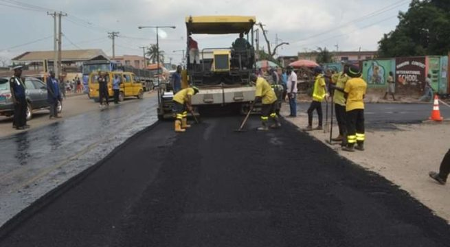 Lagos Public Works Begins Massive Roads Rehabilitation