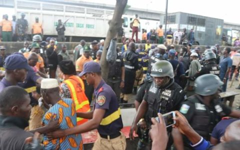 Badagry Expressway : Lagos Govt Commences Demolition of Shanties