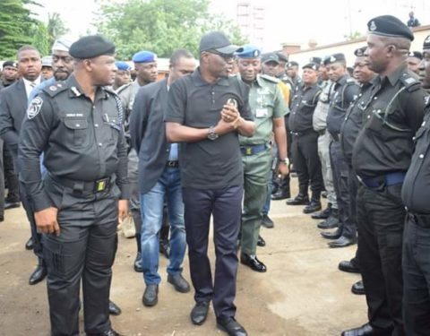 Lagos Governor, Sanwo-Olu Assures Police of Improved Welfare Package