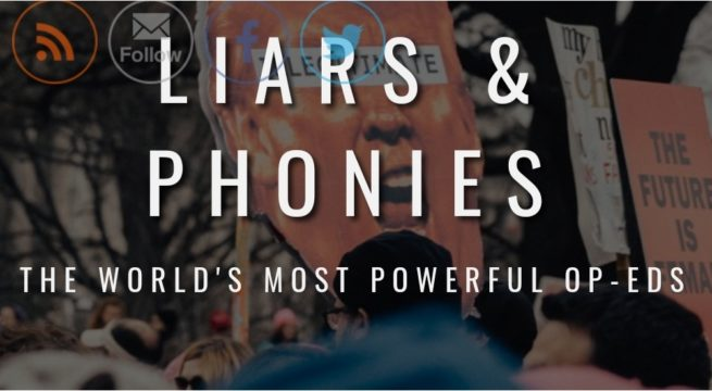 Non-Profit Startup, Liars & Phonies is Introducing a New Culture of OP-EDS to the World
