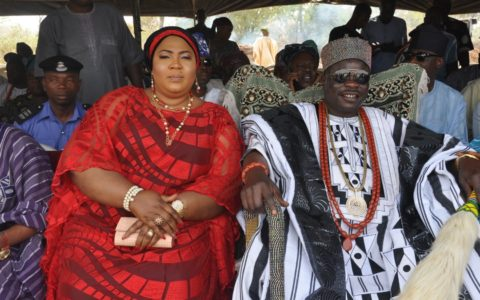 Kwara Gov Greets Olofa of Offa at 56