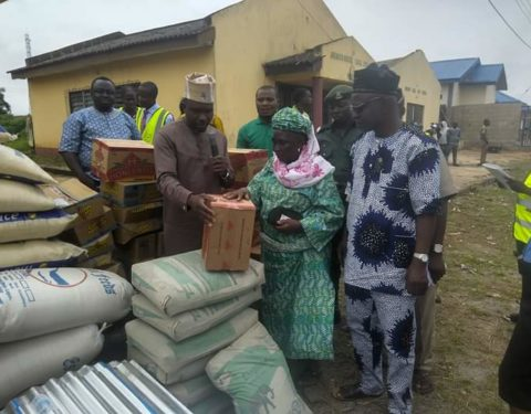Ogun Govt Distributes Relief Materials to Flood Victims