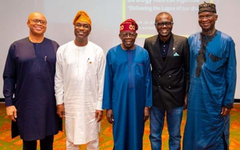 Success of this Administration not Negotiable, Tinubu tells Sanwo-Olu, Lagos Cabinet Members
