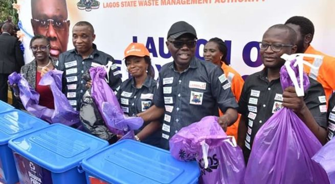 Lagos Commences Rapid Waste Recycling, as Sanwo-Olu Launches Initiative