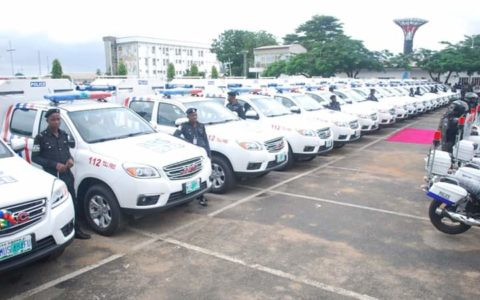 Lagos State Donates Patrol Vehicles, Motorbikes to Security Operatives