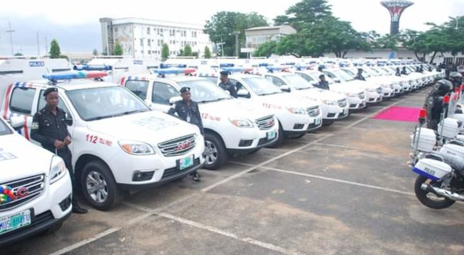 Lagos State Donates Patrol Vehicles, Motorbikes to Security Operatives