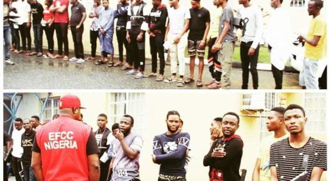 Nigeria: EFCC Operatives Arrests 18 Suspected Internet Fraudsters In Lagos