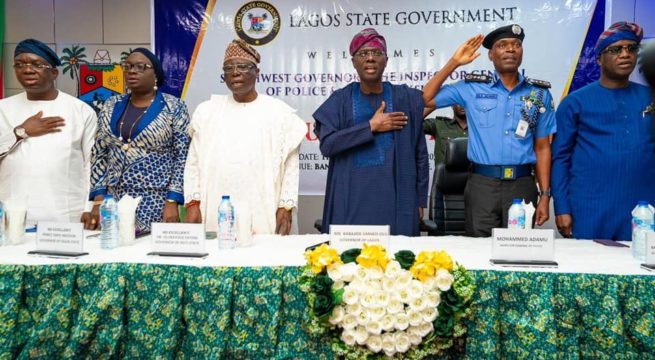 IGP, Southwest Governors agree on Amotekun