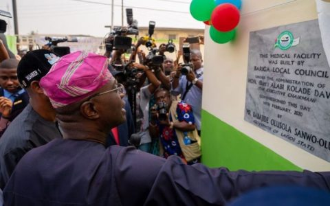 Sanwo-Olu opens 11 Road Network, Health Centre in Bariga