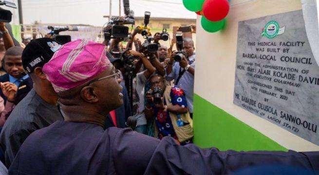 Sanwo-Olu opens 11 Road Network, Health Centre in Bariga
