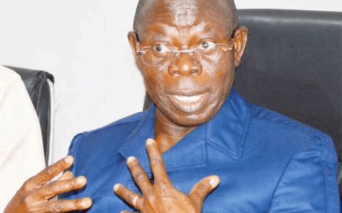 Ousted APC National Chairman- Adams Oshiomhole Accepts Court Judgement in Good Faith