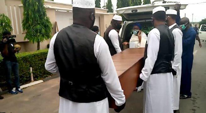 Ajimobi Laid to Rest in Ibadan Amid Tight Security