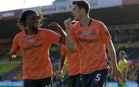 Nigerian Forward, Alex Iwobi Inspires Everton to a Premier League Win at Carrow Road