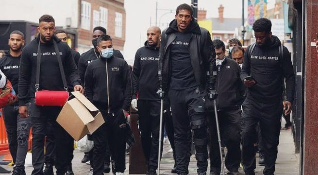 Nigerian Born Boxer, Anthony Joshua not Ruled Out of Bout with Pulev - Hearn