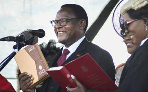 Malawi Re-run Election: Chakwera Sworn in as Sixth President After Historic Court-overturned Vote in Africa