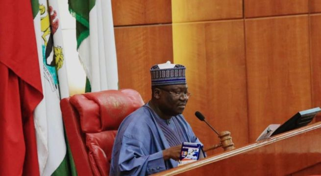 Arrest Rising Insecurity in Nigeria or be Sacked- Senate President Lawan Tells Service Chiefs