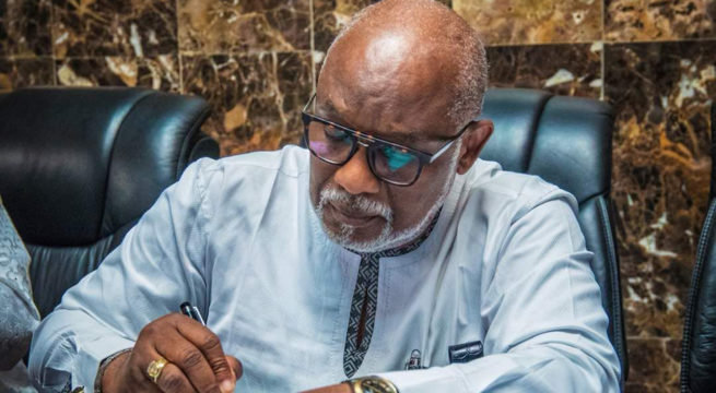 Ondo State Tussle: Governor Akeredolu Sacks all Aids of Deputy, Ajayi as Pre-election Battle Continues