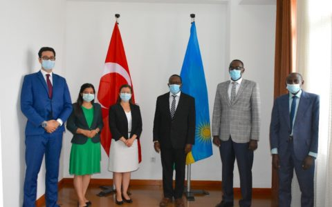 Turkey Gifts Rwanda Face Masks to Help Combat COVID-19