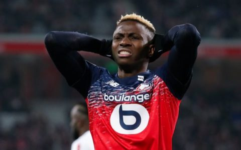 Nigerian Striker Victor Osimhen Excused from Lille's Pre-season