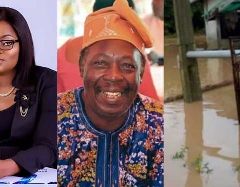 Funke Akindele Rescues Pa James by Gifting Him a House after Flood Wrecked His Home