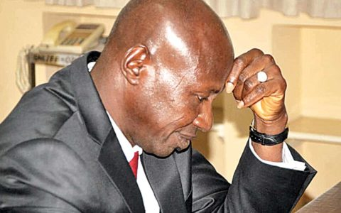 Two Nights After Arrest, Suspended EFCC Boss, Magu, Still in Detention