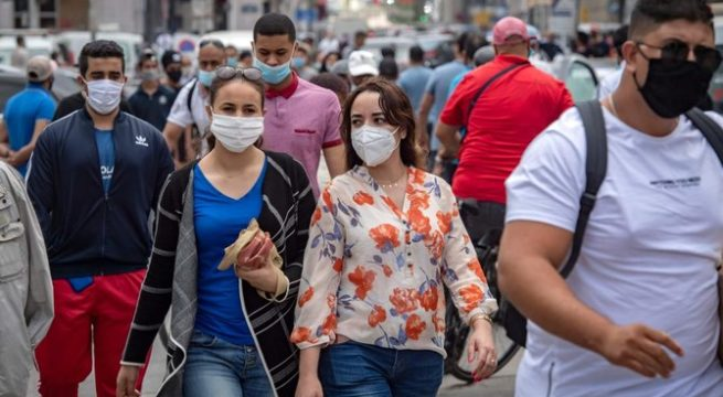 Moroccans Risk Fine, Jail for Failing to Wear Mask in Public