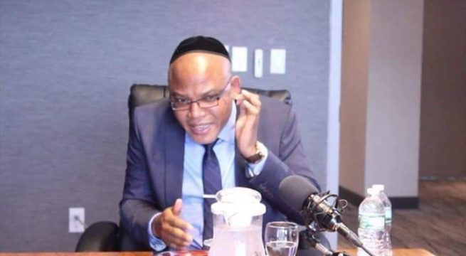 Leader of IPOB, Nnamdi Kanu Orders Group to Cease Attacks Against Yorubas