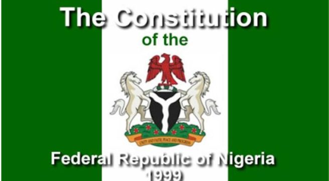 Nigeria - Ethics Of Supporting A Sham 1999 Constitution