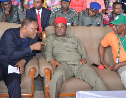 Power Changes Hands in Ebonyi as Governor David Umahi Tests COVID-19 Positive, Hands Over to Deputy