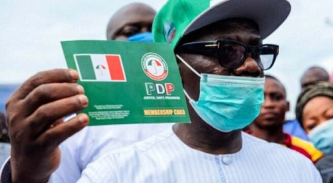 Ondo Deputy Governor Resigns His Membership of PDP