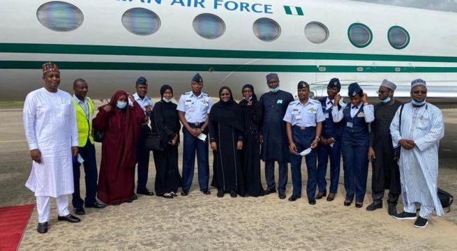 Aisha Buhari Confirms Escaping Plane Crash