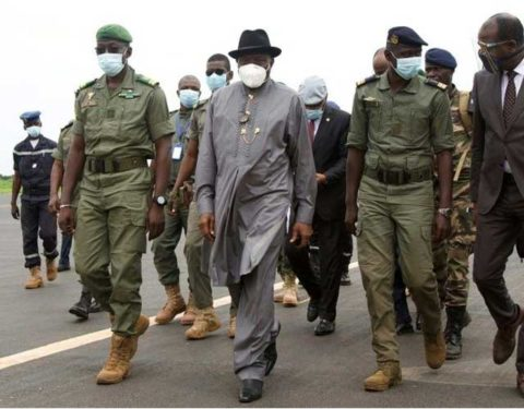 Mali Coup: Jonathan Led ECOWAS Delegation Meet Coup Leaders as Talks Continue