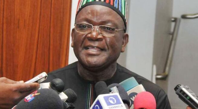 Ortom Advocates Gun License to Responsible Nigerians as Solution to Insecurity