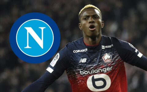 Napoli Completes Club Record €50m Deal for Nigerian Striker Osimhen from Lille