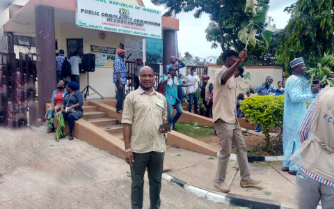 Photos: Public Complaints Commission Staff Embark on 7 Days Warning Strike, Stage Protest at Headquarters