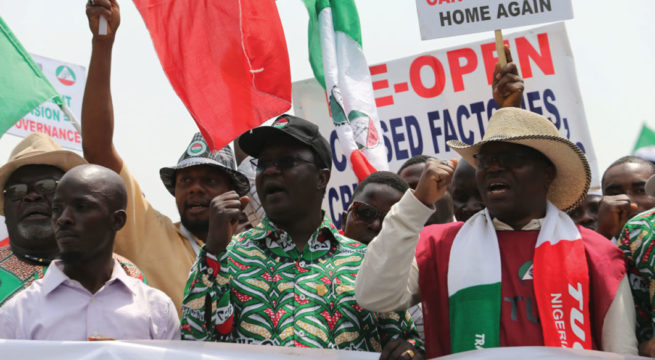 FG, Labour to Meet Thursday Over Strike Action to Protest Electricity Tariff, Fuel Price Hike