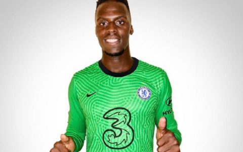 Breaking: Chelsea Complete Signing of Senegalese Keeper, Edouard Mendy