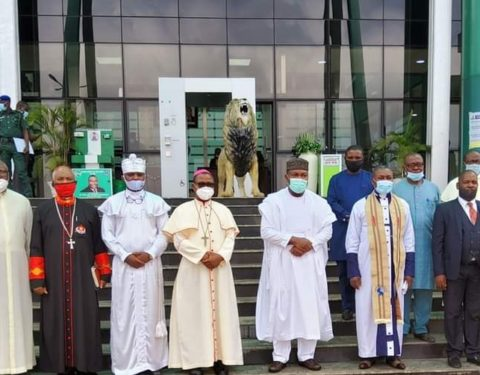 CAN Extols Gov. Ugwuanyi for Good Governance, Peace, Security