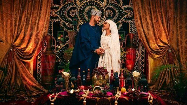 Money Rain as President Buhari's Daughter, Hanan Weds (See Video)