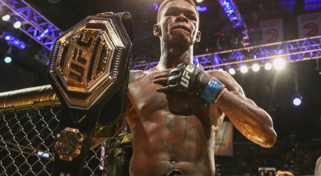 UFC: Adesanya Challenges Cannonier After Beating Costa
