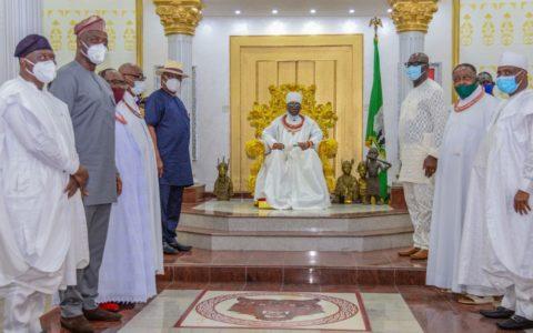 Guard Against godfatherism, Oba of Benin Warns PDP