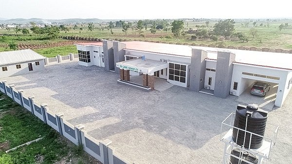 FG Commissions Infectious Disease Centre in UATH