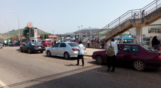 Motorists Whine as Petrol Scarcity Rocks Abuja (Photos)