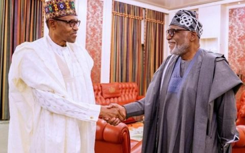 Buhari Congratulates Akeredolu Over Reelection