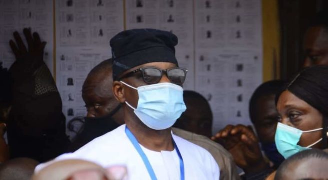 Ondo Decides: Jegede Votes, Refuses to Jump Queue