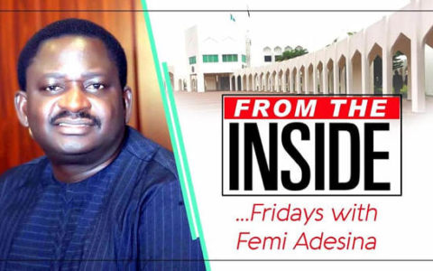 Opinion: Buhari Goes Rail-Wire Says Femi Adesina