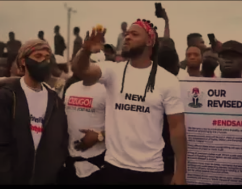 #EndSARS: Hold Enugu Govt. if We are Hurt - Singer Flavour